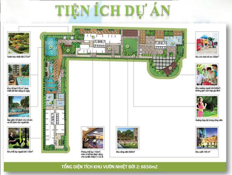 dự án Tropic Garden